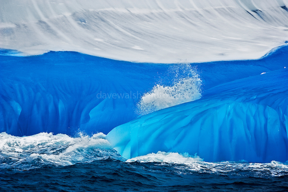 """Limited edition Giclée Prints available - contact me for more details.<br /> <br /> An iridescent blue iceberg  - the blue comes from thousands of years of  snow being slowly compressed into a hard glacier. As air is squeezed out, ice crystals grow, and absorbing light from the red end of the visible spectrum - leaving blue light to be refracted. This mage can be licensed via Millennium Images. Contact me for more details, or email mail@milim.com For prints, contact me, or click """"add to cart"""" to some standard print options."""