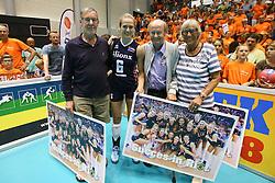20160725 NED: Nederland - Zuid - Korea, Rotterdam<br />Maret Balkestein - Grothues ontvangt succeswensen van Volaren. <br />&copy;2016-FotoHoogendoorn.nl / Pim Waslander