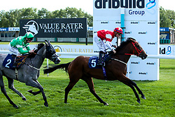 Bluebell Time ridden by Kieran O'Neill trained by Malcolm Saunders in The Empire Fighting Chance Handicap Stakes (Class 5) - Mandatory by-line: Robbie Stephenson/JMP - 04/09/2019 - PR - Bath Racecourse - Bath, England - Bath Races