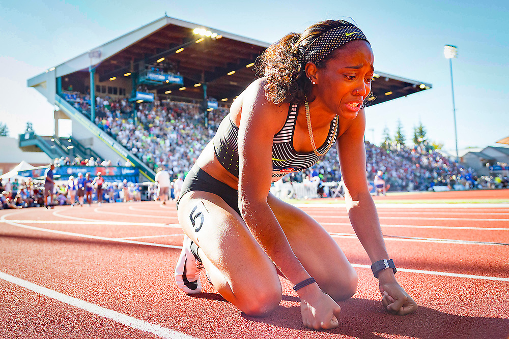 2016 U.S. Olympic Track and Field Trials at Hayward Field in Eugene, Ore., on Sunday, July 3, 2016. (Ryan Kang/The Register-Guard)