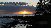 Sunset, Poipu, Kauai, Hawaii