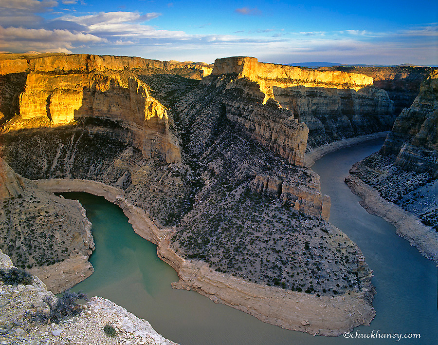 Bighorn River Canyon in Carbon County Montana