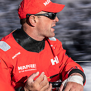 Leg 11, from Gothenburg to The Hague, day 03 on board MAPFRE, Xabi Fernandez. 23 June, 2018.