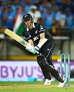 Black Caps Matt Henry bats during the Fifth ODI of the 2019 ANZ International ODI Series. Blackcaps v India at Westpac Stadium, Wellington, Sunday 3rd February 2019. © Copyright Photo: Grant Down / www.photosport.nz
