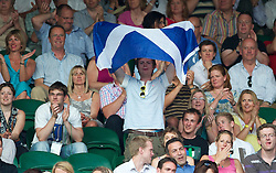 LONDON, ENGLAND - Saturday, June 26, 2010: A Scottish Andy Murray (GBR) supporter during the Gentlemen's Singles 3rd Round on day six of the Wimbledon Lawn Tennis Championships at the All England Lawn Tennis and Croquet Club. (Pic by David Rawcliffe/Propaganda)