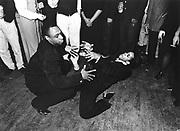 Jazz dancers, The Wag Club, Soho, London, 1980s.