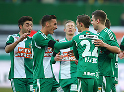 14.02.2015, Ernst Happel Stadion, Wien, AUT, 1. FBL, SK Rapid Wien vs SV Josko Ried, 20. Runde, im Bild Torjubel Rapid // during a Austrian Football Bundesliga Match, 20th Round, between SK Rapid Vienna and SV Josko Ried at the Ernst Happel Stadion, Wien, Austria on 2015/02/14. EXPA Pictures © 2015, PhotoCredit: EXPA/ Thomas Haumer