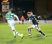 Dundee&rsquo;s Rory Loy takes on Celtic's Mikael Lustig  - Dundee v Celtic, Ladbrokes Scottish Premiership at Dens Park<br />  <br />  - &copy; David Young - www.davidyoungphoto.co.uk - email: davidyoungphoto@gmail.com