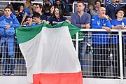 Ultras, Tifosi, Spettatori, Pubblico,<br /> Italia Italy - Lituania Lithuania<br /> FIBA World Cup 2019 Qualifiers<br /> FIP 2018<br /> Brescia, 29/11/2018<br /> Foto M.Longo / Ciamillo-Castoria