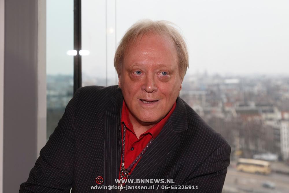 NLD/Amsterdam/20150324 -  boekpresentatie Het Grote Songfestival boek, Eddy Ouwens