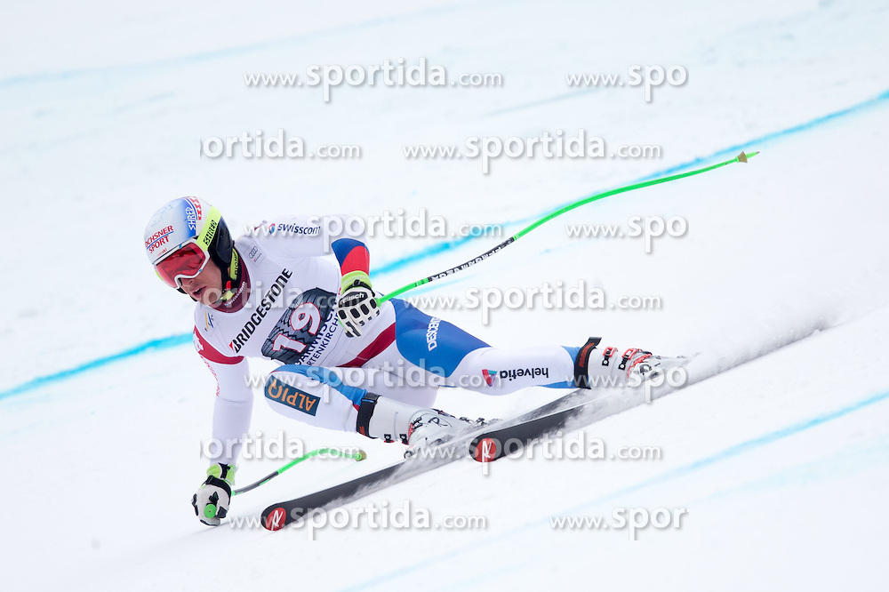 27.02.2015, Kandahar, Garmisch Partenkirchen, GER, FIS Weltcup Ski Alpin, Abfahrt, Herren, 2. Training, im Bild Carlo Janka (SUI) // Carlo Janka of Switzerland in action during the 2nd trainings run for the men's Downhill of the FIS Ski Alpine World Cup at the Kandahar course, Garmisch Partenkirchen, Germany on 2015/27/02. EXPA Pictures © 2015, PhotoCredit: EXPA/ Johann Groder