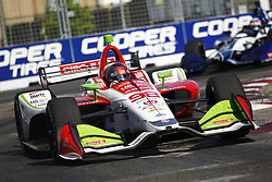 July 15, 2018 - Toronto, Ontario, Canada - MARCO ANDRETTI (98) of the United States battles for position during the Honda Indy Toronto at Streets of Toronto in Toronto, Ontario. (Credit Image: © Justin R. Noe Asp Inc/ASP via ZUMA Wire)