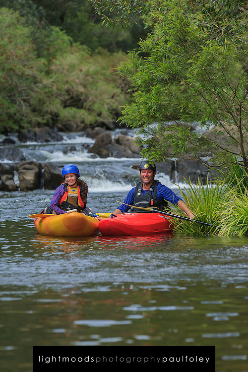 Canoe adventure in the Barrington Tops, Hunter Valley, NSW, Australia