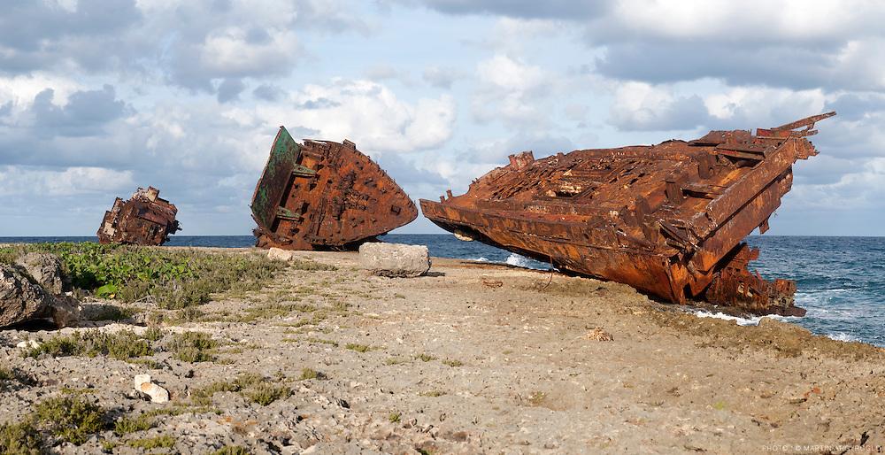 Gibara, village dévasté parle cyclone de 2008. Cuba, 2010.