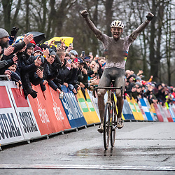 22-12-2019: Cycling: CX Worldcup: Namur: Mathieu van der Poel wins the worldcup in Namur