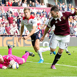 Hearts v Falkirk | Scottish Championship | 30 August 2014