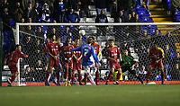 Photo: Mark Stephenson.<br />Birmingham City v Reading. The FA Cup. 27/01/2007.<br />Birmingham's Saebastian Larsson scores from a free kick