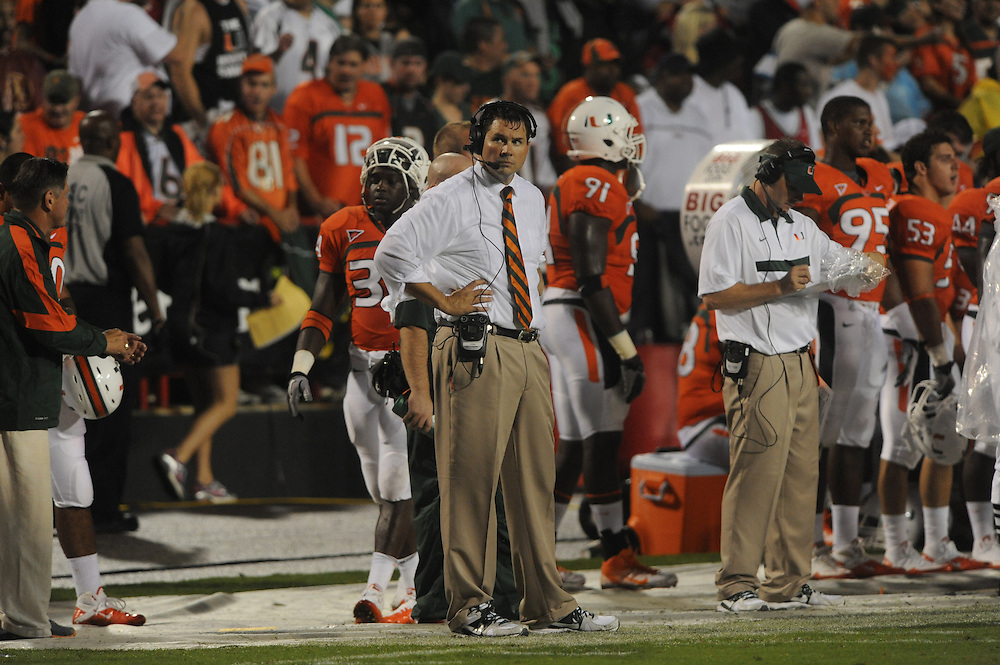 2011 Miami Hurricanes Football @ Maryland<br /> <br /> Al Golden
