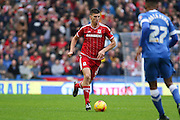 Middlesbrough FC defender Daniel Ayala during the Sky Bet Championship match between Brighton and Hove Albion and Middlesbrough at the American Express Community Stadium, Brighton and Hove, England on 19 December 2015. Photo by Phil Duncan.