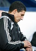 Photo: Steve Bond/Richard Lane Photography. West Bromwich Albion v Newcastle United. Barclays Premiership. 07/02/2009. Chris Hughton checks his watch
