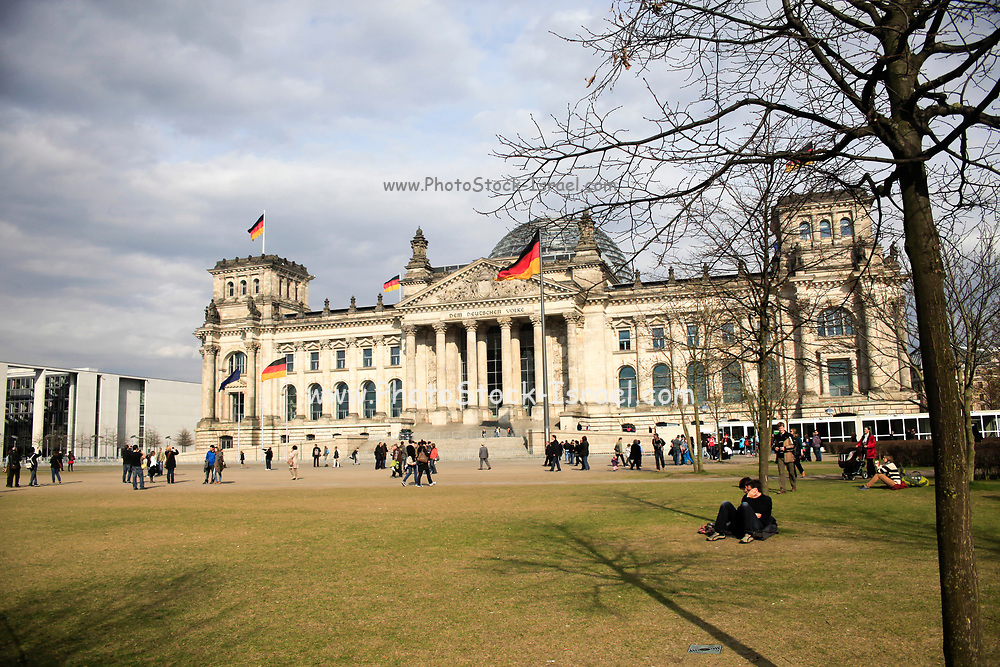 Reichstag building, Berlin, Germany