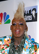 Dennis Rodman attends the All-Star Celebrity Apprentice Finale at Cipriani 42nd Street in New York City, New York on May 19, 2013.