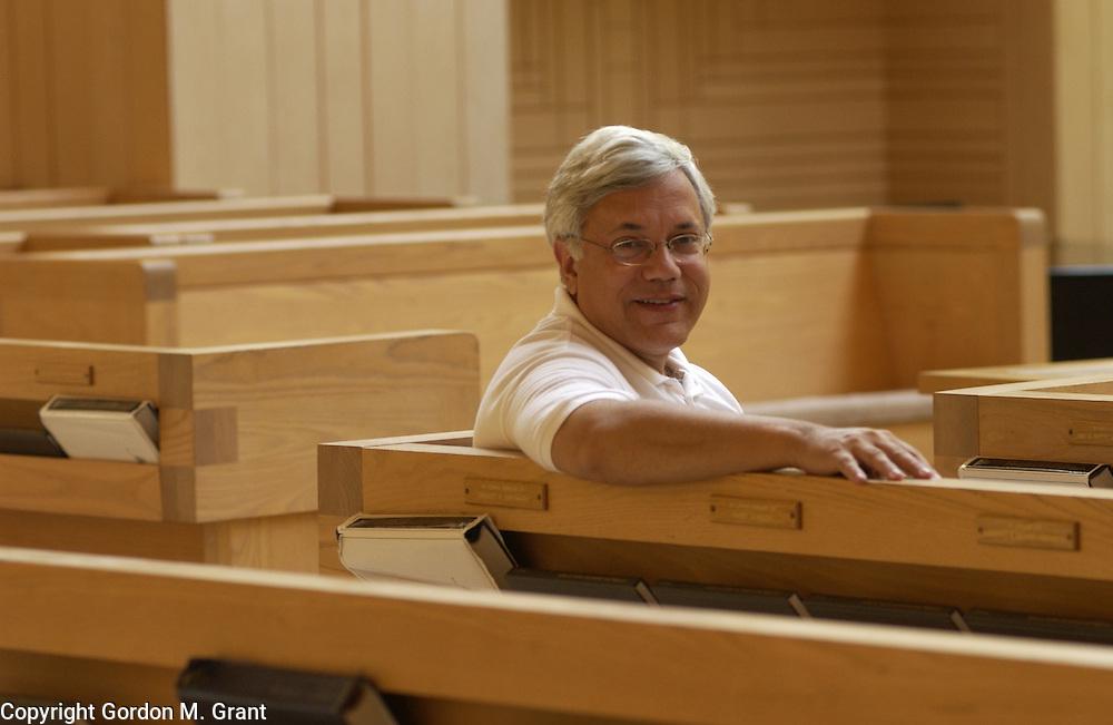 East Hampton, NY - 082903 - LI - Rabbi David J. Gelfand of The Jewish Center of the Hamptons...Gordon M. Grant Photo