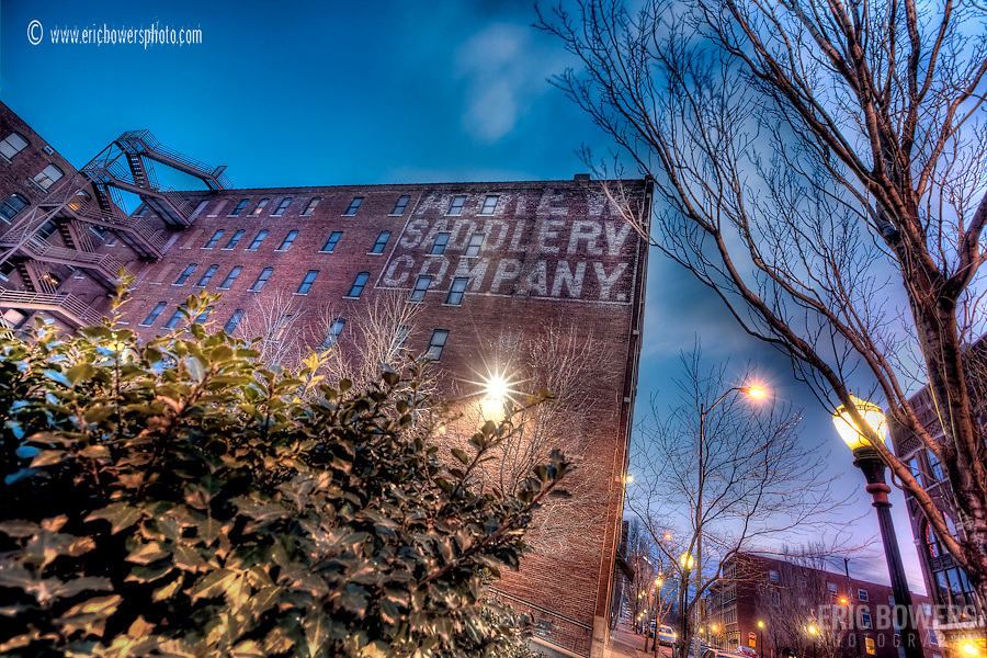 The Askew Saddlery Lofts Building in the River Market, Kansas City Missouri