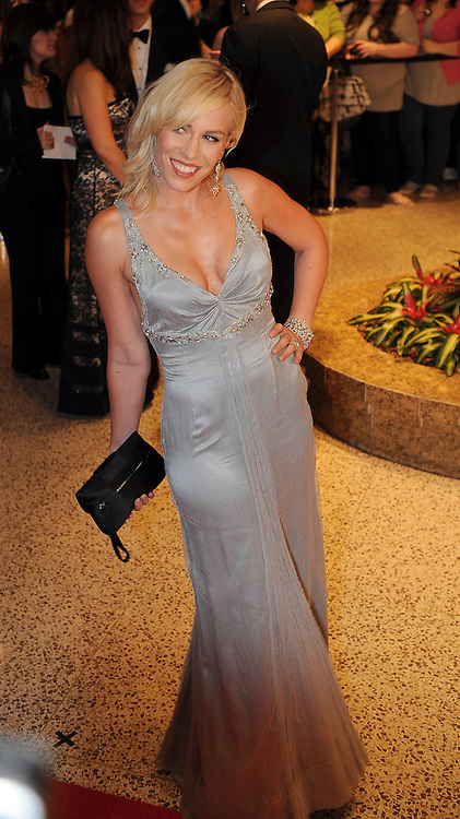 Natasha Bedingfield arrives for the White House Correspondents Dinner in Washington, DC