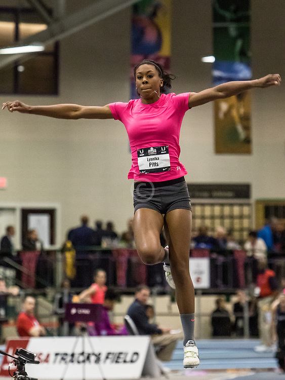 USATF Indoor Track & Field Championships: womens triple jump, Lynnika Pitts