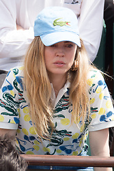 Melissa George in stands during French Tennis Open at Roland-Garros arena on June 08, 2018 in Paris, France. Photo by Nasser Berzane/ABACAPRESS.COM
