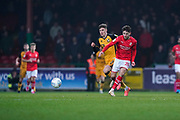 Rob Hunt of Swindon Town in action during the EFL Sky Bet League 2 match between Swindon Town and Port Vale at the County Ground, Swindon, England on 25 January 2020.