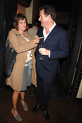 TRACEY EMIN and PIERS MORGAN at a party to celebrate the publication of Piers Morgan's book 'Don't You Know Who I Am?' held at Paper, 68 Regent Street, London W1 on 18th April 2007.<br /><br />NON EXCLUSIVE - WORLD RIGHTS