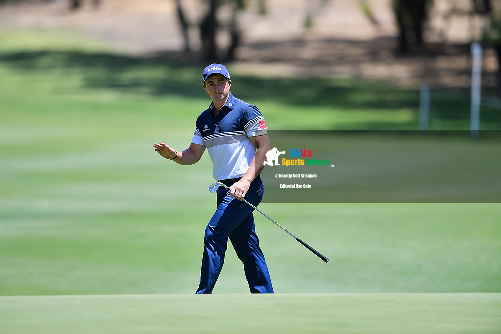 PERTH, AUSTRALIA - FEBRUARY 16: Paul Dunne (IRL) on the 7th green during the 3rd round of the ISPS Handa World Super 6, Lake Karrinyup Country Club, Perth, Western Australia, on February 16, 2019. <br /> .<br /> .<br /> .<br /> (Photo by: Naratip Golf Srisupab/SEALs Sports Images)<br /> .<br /> Any image use must include a mandatory credit line adjacent to the content which should read: Naratip Golf Srisupab/SEALs Sports Images