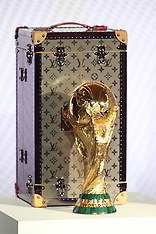 Louis Vuitton Unveils Official 2018 FIFA World Cup Trophy Case- 17 May 2018