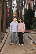 PHILADELPHIA, PA - JANUARY 26:  The Bernard's photographed January 26, 2012 in Philadelphia, Pennsylvania. (Photo by William Thomas Cain/cainimages.com)