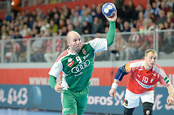 BALOGH Zsolt of Hungary during handball match between National teams of Denmark and Hungary on Day 2 in Preliminary Round of Men's EHF EURO 2018, on Januar 13, 2018 in Skolsko Sportska Dvorana, Varazdin, Croatia. Photo by Mario Horvat / Sportida