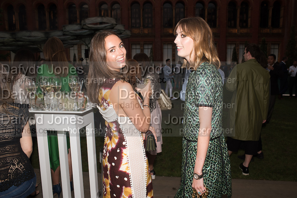 LADY VIOLET MANNERS; LADY ALICE MANNERS, V & A Summer party. South Kensington. London. 22 June 2016