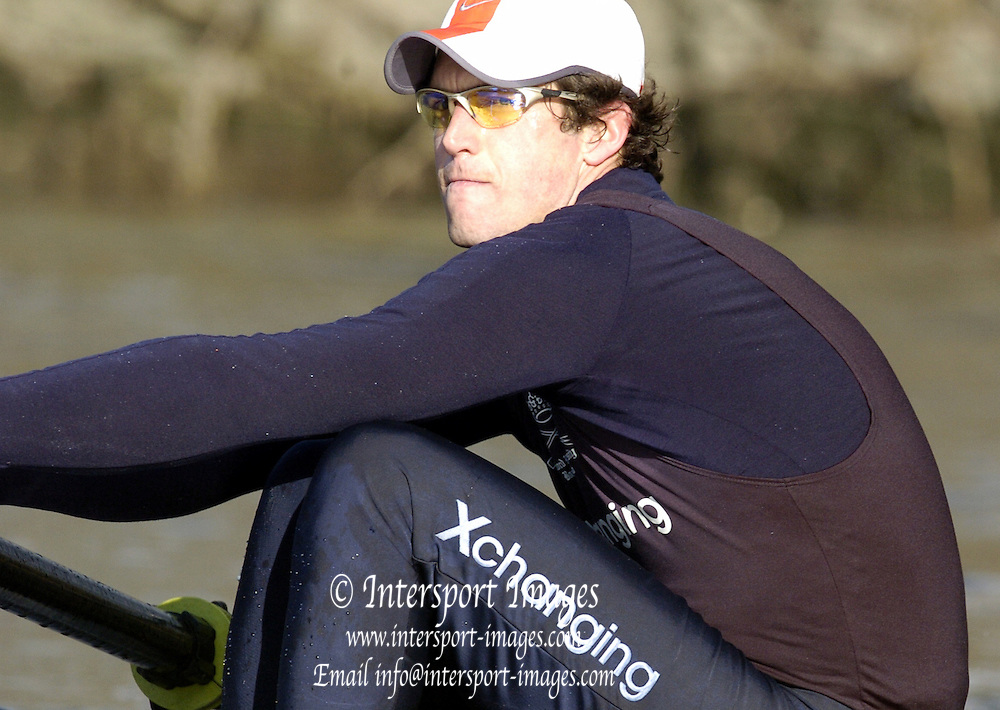 2005 Varsity Boat Race - Pre race fixtures - Putney, London., ENGLAND; OUBC,  Barney_Williams.Photo  Peter Spurrier. .email images@intersport-images...[Mandatory Credit Peter Spurrier/ Intersport Images] Varsity:Boat Race Rowing Course: River Thames, Championship course, Putney to Mortlake 4.25 Miles