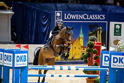 BOY Henrike-Sophie (GER), Con D´Arpina<br /> Braunschweig - Löwenclassics 2019<br /> HGW Bundesnachwuchschampionat der Springreiter<br /> Stilspringprüfung<br /> 23. März 2019<br /> © www.sportfotos-lafrentz.de/Stefan Lafrentz