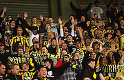 Phoenix fans.<br /> A-League football - Wellington Phoenix v Adelaide United FC at Westpac Stadium, Wellington. Friday, 4 September 2009. Photo: Dave Lintott/PHOTOSPORT