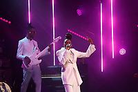 Little Simz performing at the 2019 Hyundai Mercury Prize, Eventim Apollo, London, UK, Saturday 06 July 2019<br /> Photo JM Enternational