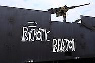 nose art gun truck vietnam war Kokomo Indiana Vietnam Veterans Reunion 2012