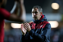 Swansea City manager Paul Clement during the Carabao Cup, Second Round match at Stadium MK, Milton Keynes.