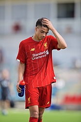 NAPLES, ITALY - Tuesday, September 17, 2019: Liverpool's Ki-Jana Hoever during the UEFA Youth League Group E match between SSC Napoli and Liverpool FC at Stadio Comunale di Frattamaggiore. (Pic by David Rawcliffe/Propaganda)