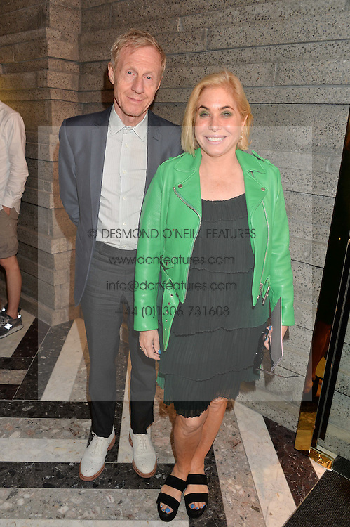 PHILIP START and BRIX SMITH START at the opening of Roksanda - the new Mayfair Store for designer Roksanda Ilincic at 9 Mount Street, London on 10th June 2014.