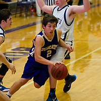 2-11-15 Berryville Jr High Boys District vs Shiloh Christian