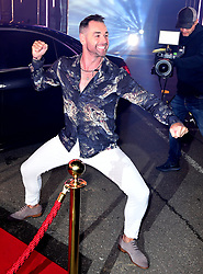 Ben Jardine enters the house during the Celebrity Big Brother Launch Night at Elstree Studios, Hertfordshire.