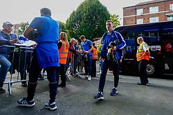 Luke Russe of Bristol Rovers arrives at Loftus Road prior to kick off - Mandatory by-line: Ryan Hiscott/JMP - 28/08/2018 - FOOTBALL - Loftus Road - London, England - Queens Park Rangers v Bristol Rovers - Carabao Cup