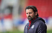 Dundee manager Paul Hartley - St Johnstone v Dundee, Ladbrokes Scottish Premiership at McDiarmid Park, Perth. Photo: David Young<br /> <br />  - &copy; David Young - www.davidyoungphoto.co.uk - email: davidyoungphoto@gmail.com